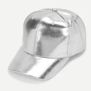 Accessories - Silver Baseball Cap
